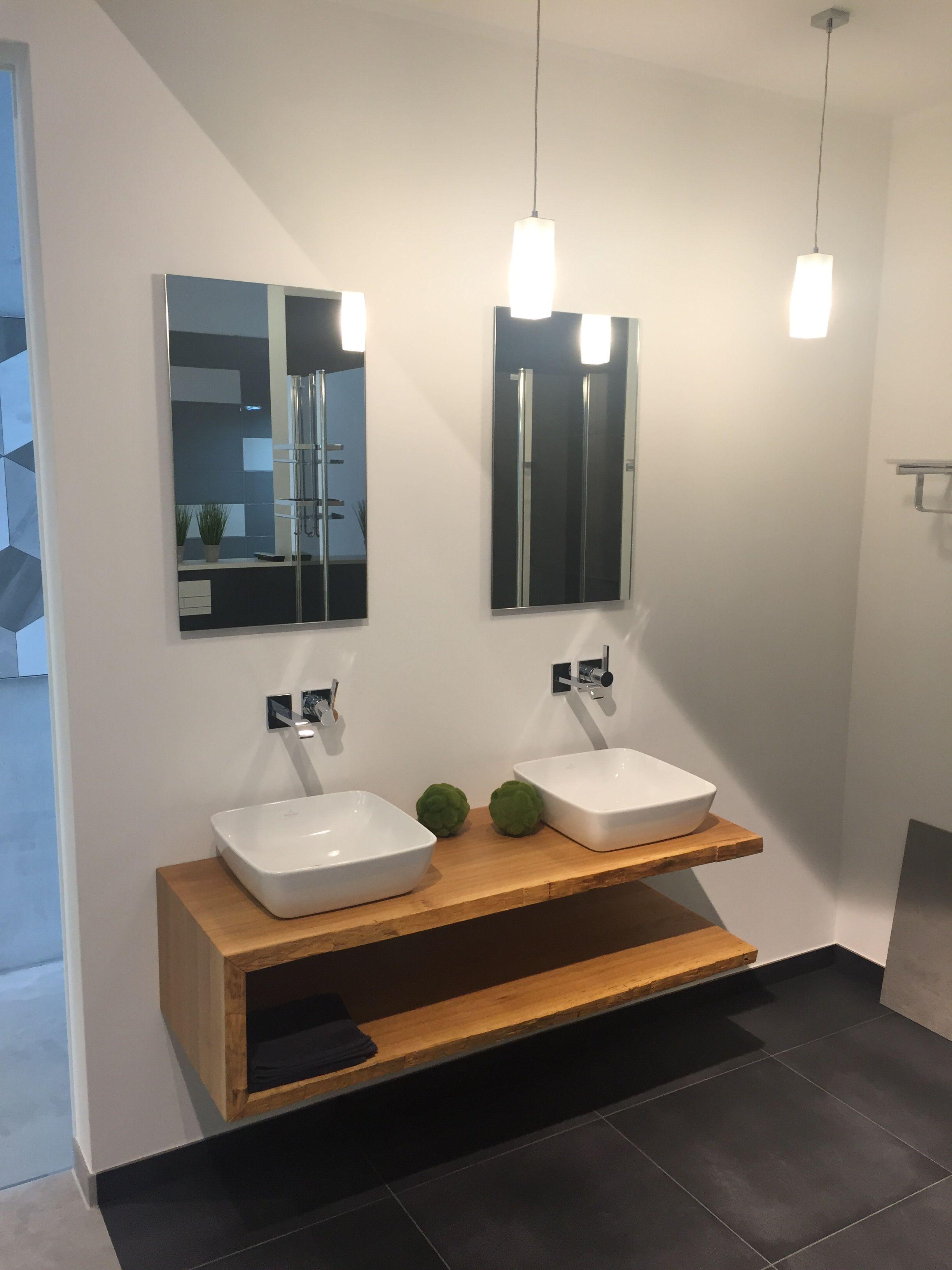 Waschplatzanlage Mit Baumkante Badezimmer Waschbecken Sanitar