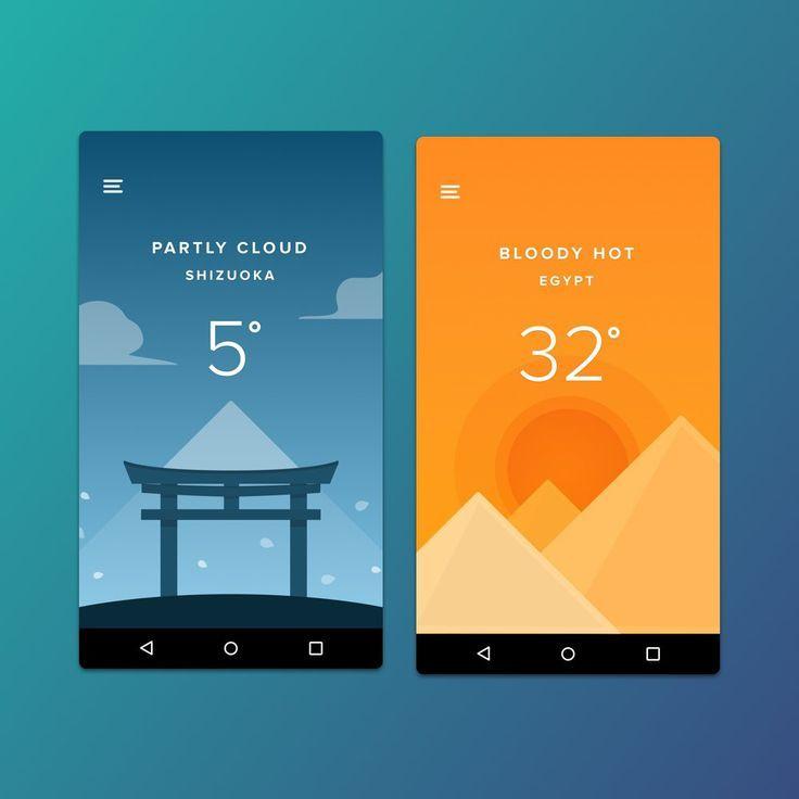 ui design 2016 trends - App Design Ideas