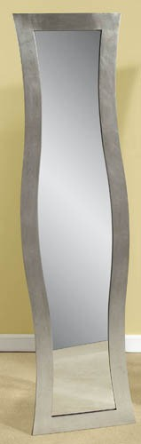 Bassett Mirror Company Shaped Rectangle Dressing Mirror - Silver BM-M2815 $286.00