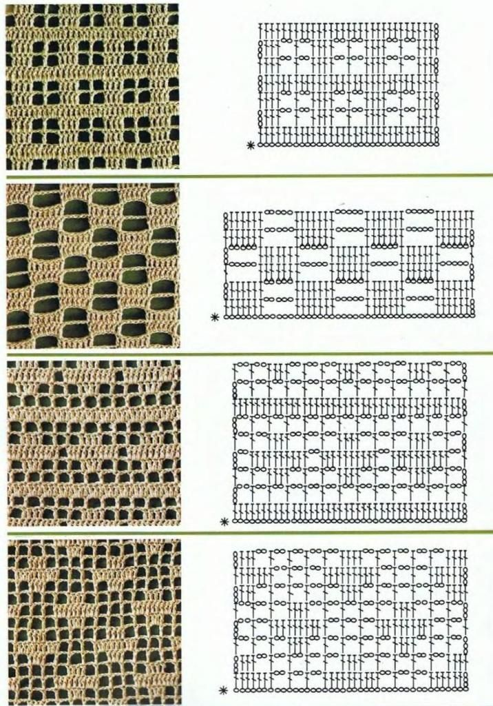 Filet crochet patterns for crochet curtains | Haken | Pinterest ...