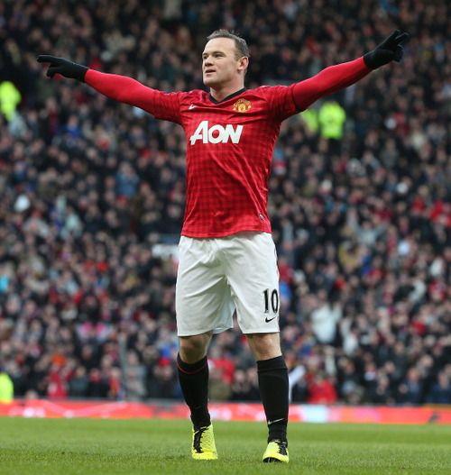 Wayne Rooney _  Manchester United