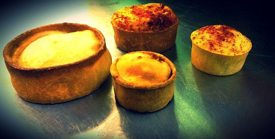 Pie, Pasties and more - Menu