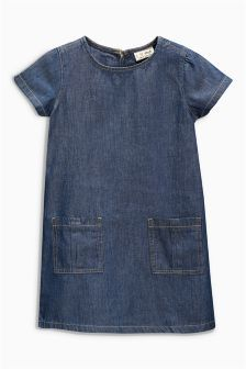 Denim Shift Dress (3-16yrs) (401527G65) | £8 - £13
