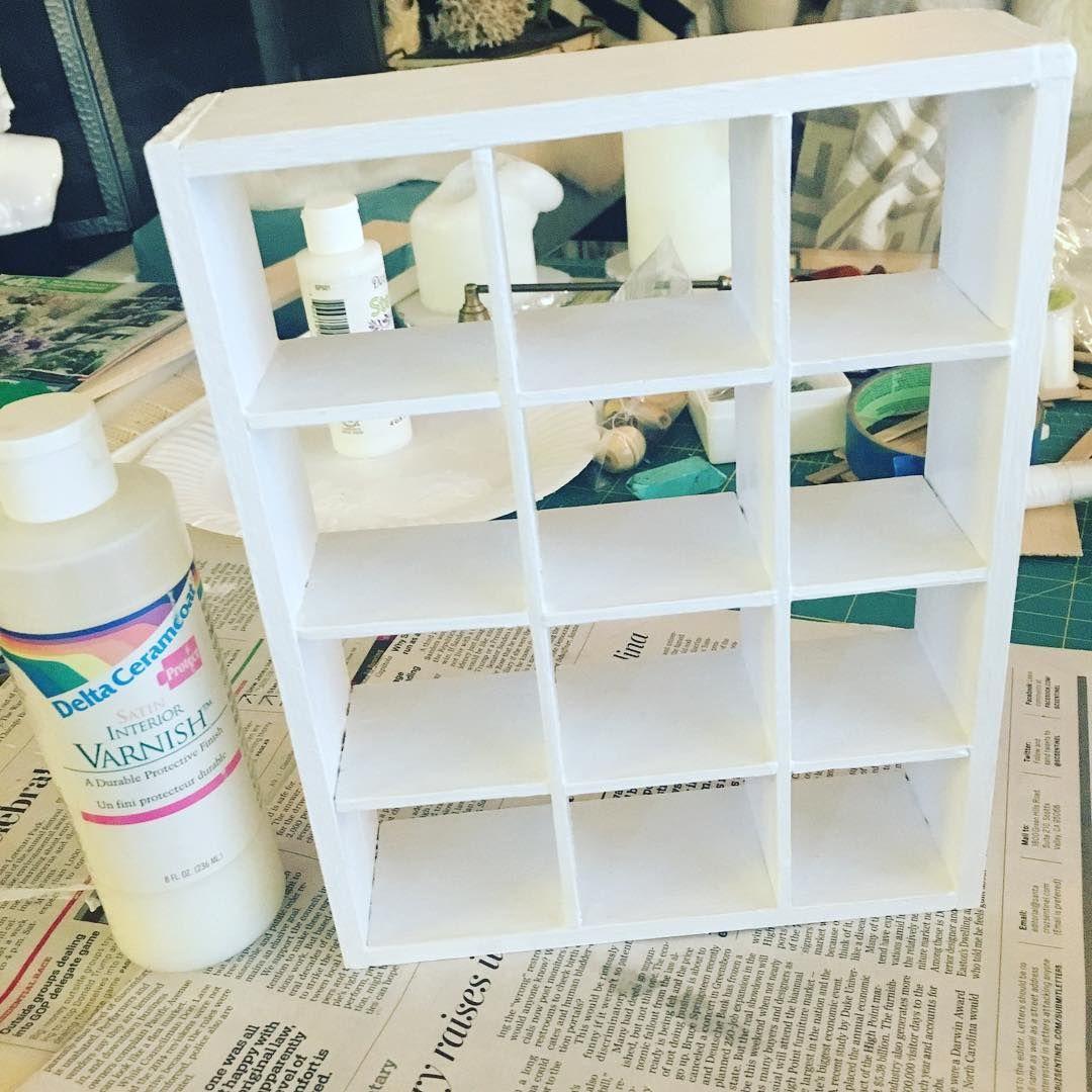ikea dollhouse furniture. Barbie Doll Furniture Made By @brunbellebarbie On Instagram: \u201cFinal Coat Of Varnish Drying Ikea Dollhouse