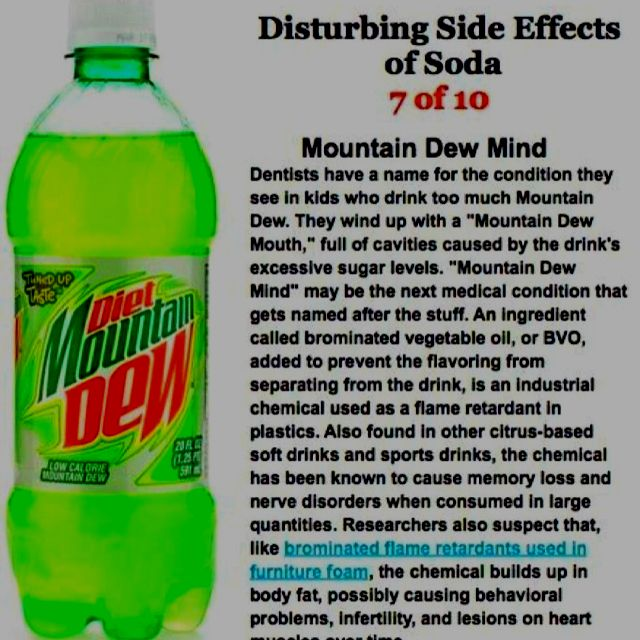 Even Though This Chemical Is Banned In Europe It S Considered Generally Safe Here In The Us Soda Health Health Mountain Dew