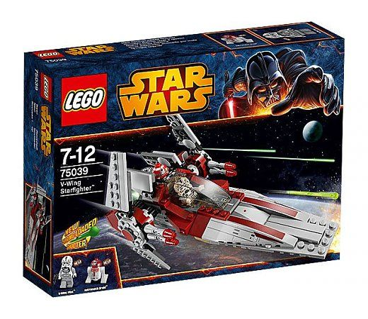 LEGO Star Wars: Revenge of the Sith: 75039 V-Wing Starfighter (2014)