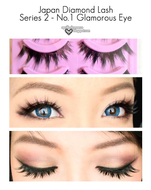 4bcce0ccfcc April Fool Romance: Diamond Lash Series 2 - No. 1 Glamorous Eye Review