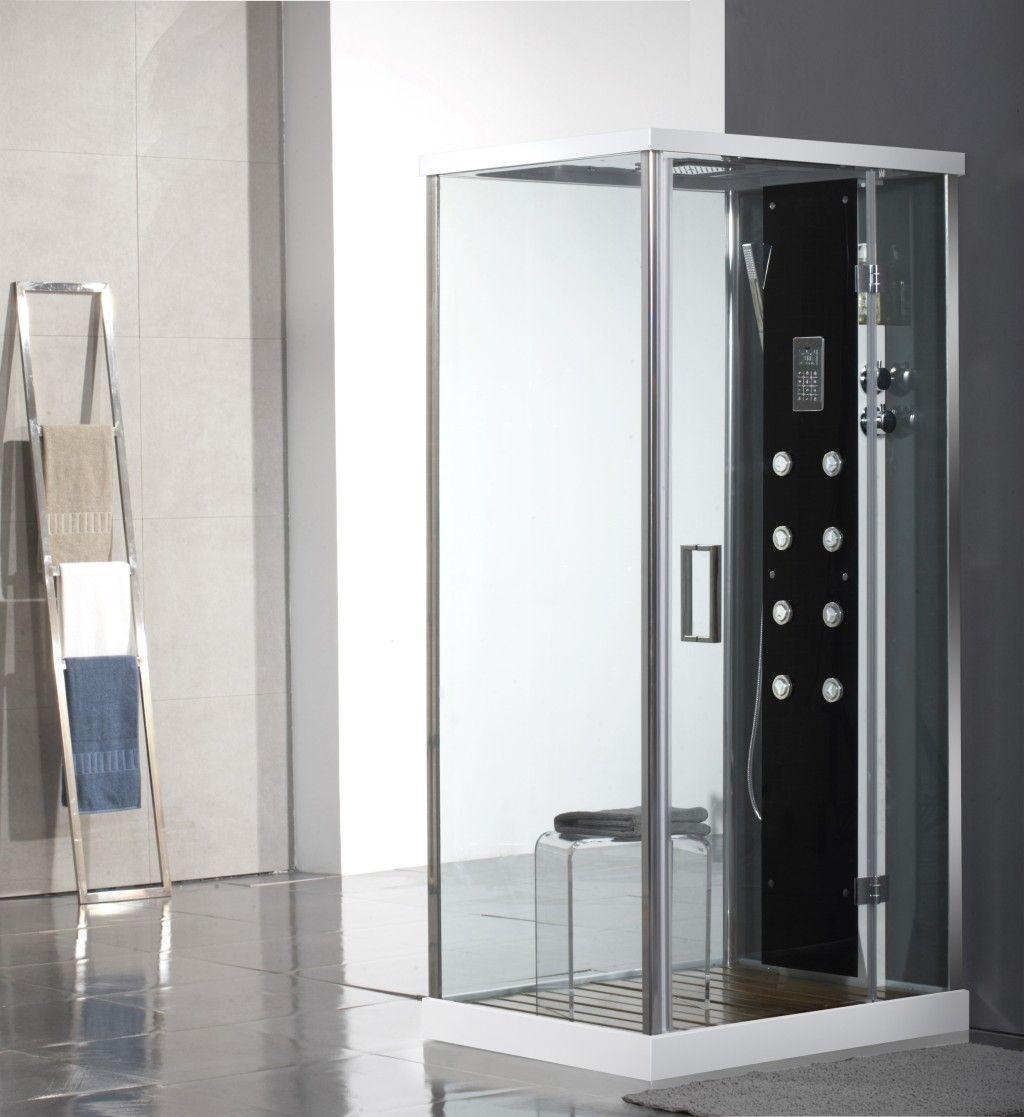 Glass Box Doccia.Box Doccia Idromassaggio Modello Lux Glass 1 Per Un Angolo
