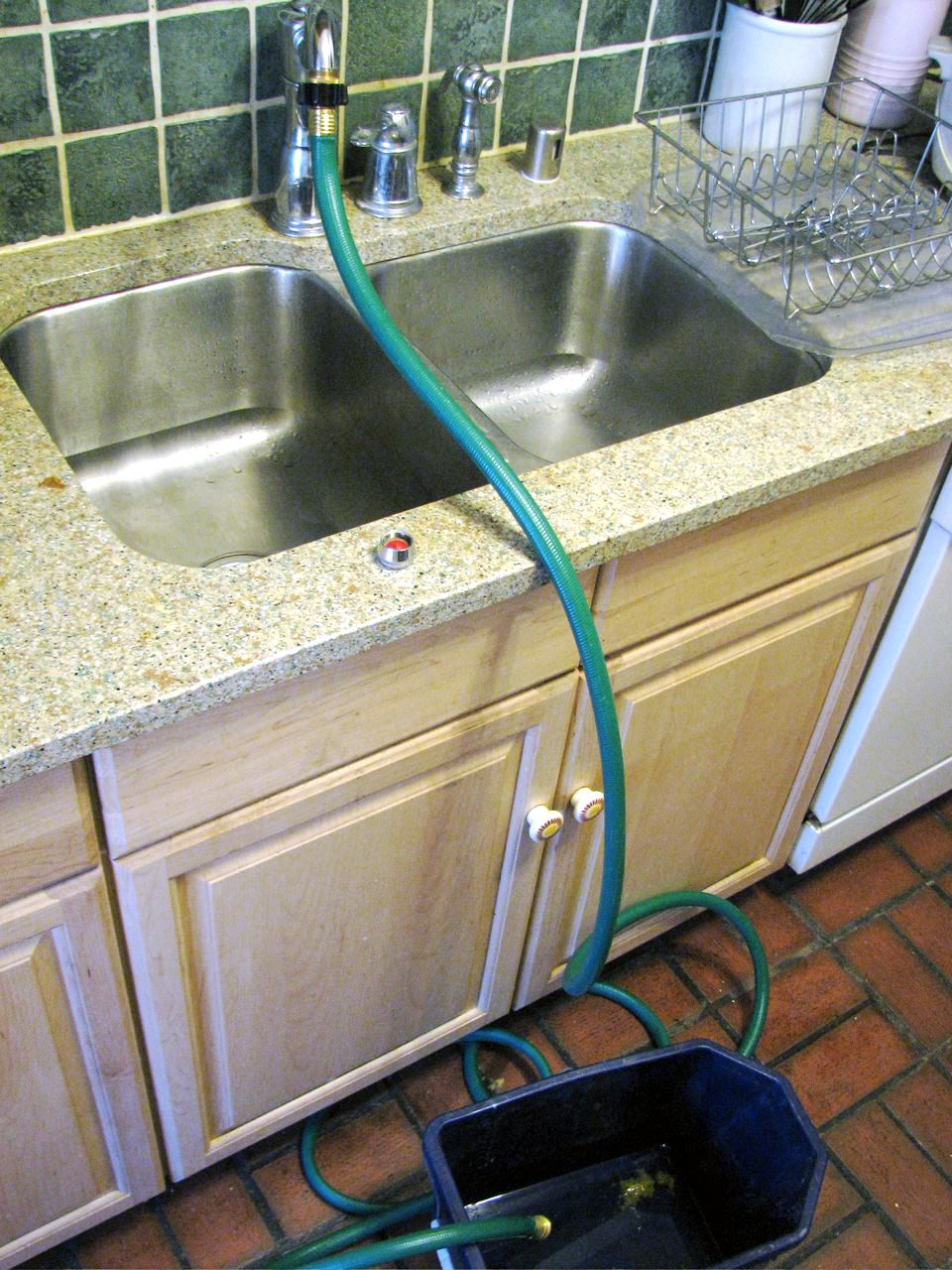 Attach a Garden Hose to a Kitchen Faucet | Garden hose, Kitchen ...