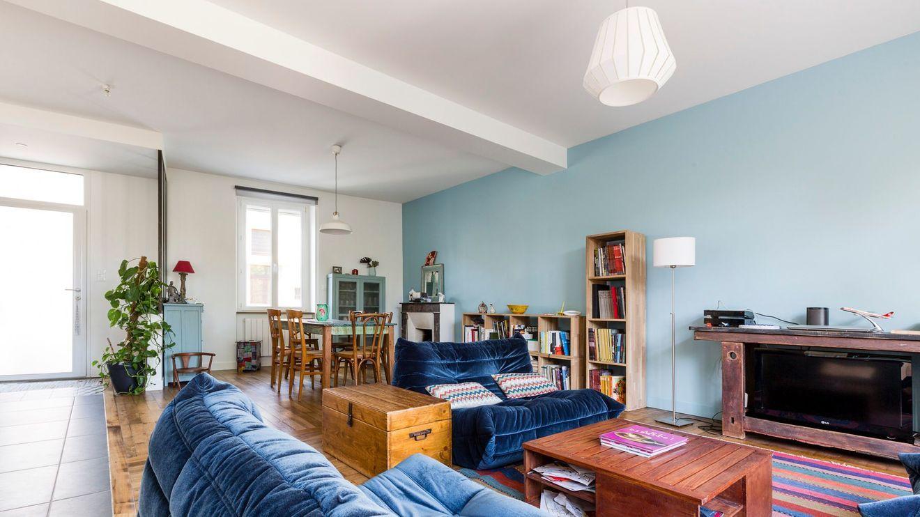 Maison Nantes 130 M2 Font Le Plein De Lumiere Pour Une Famille Maison Nantes Maison Idee Deco Maison