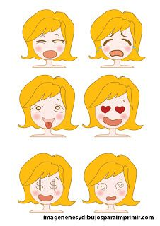 Caras Con Emociones Para Imprimir Kids Playing Play Therapy Learning Spanish