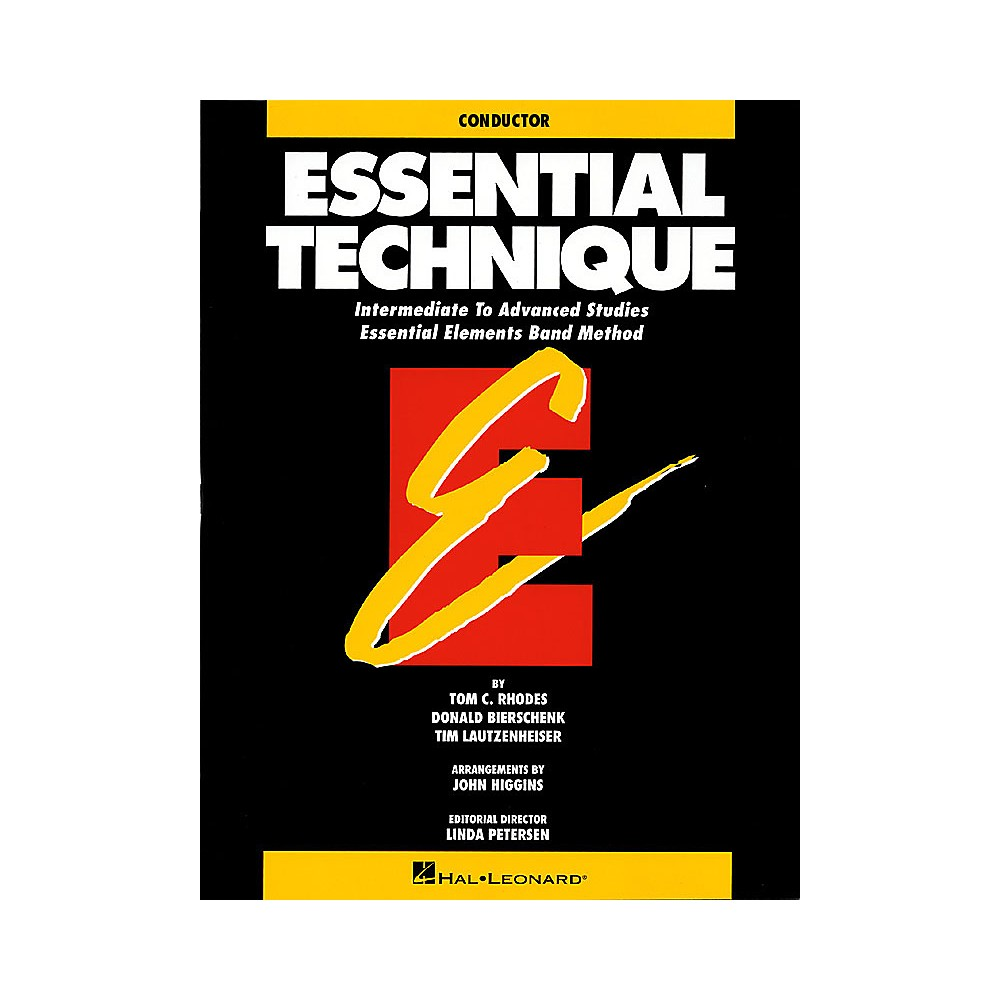 Hal Leonard Essential Technique Original Series Conductor Concert Band