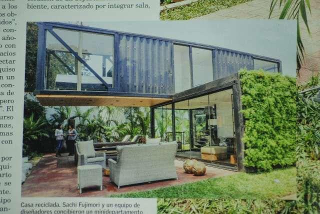 Casa hechas con contenedores maritimos usados buscar con - Contenedores casas prefabricadas ...
