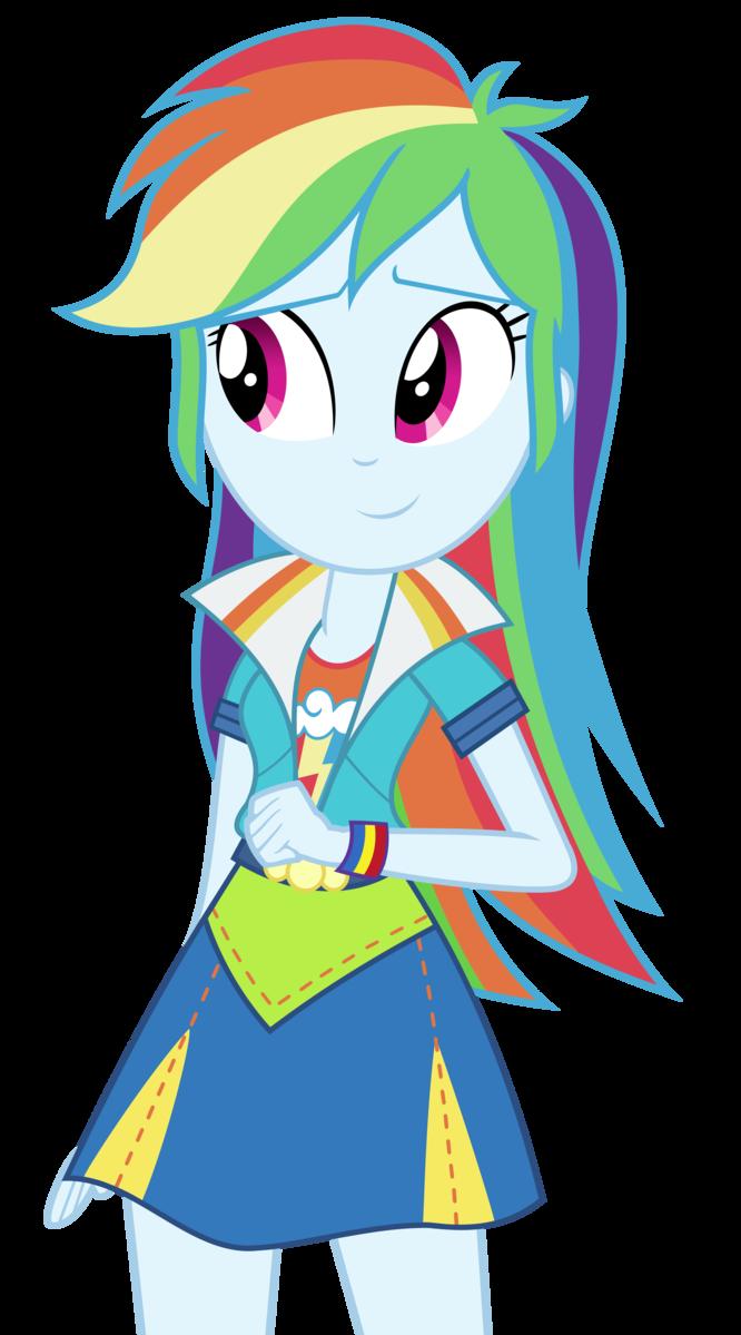 Regenbogen Dash Equestria Girls