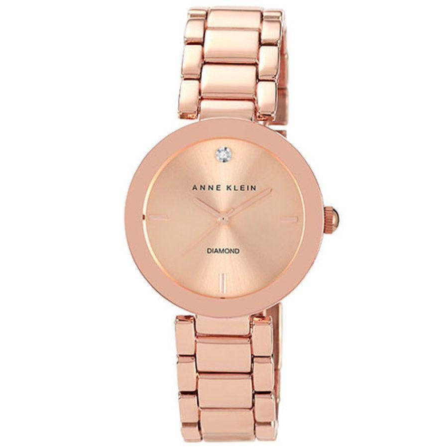 8d814868f8b Womens Anne Klein Polished Rose Gold-Tone Watch - AK-1362RGRG ...