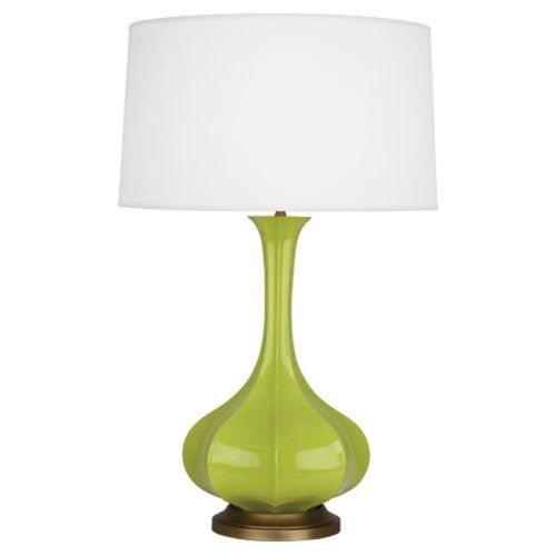 Pike 1 Light Table Lamp in Apple Glazed