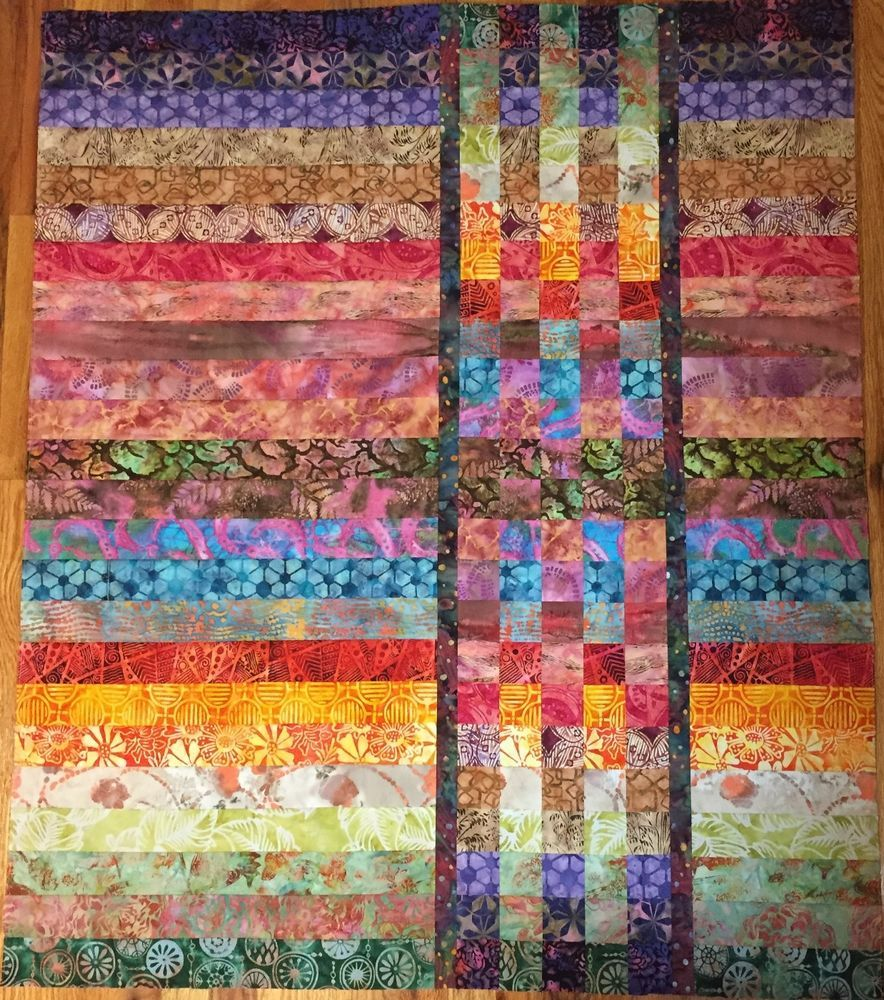 Quilt Top 41 X 49 Made In NC