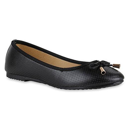 separation shoes 74385 b3fa2 Klassische Damen Ballerinas Modische Flats Schleifen Blumen ...