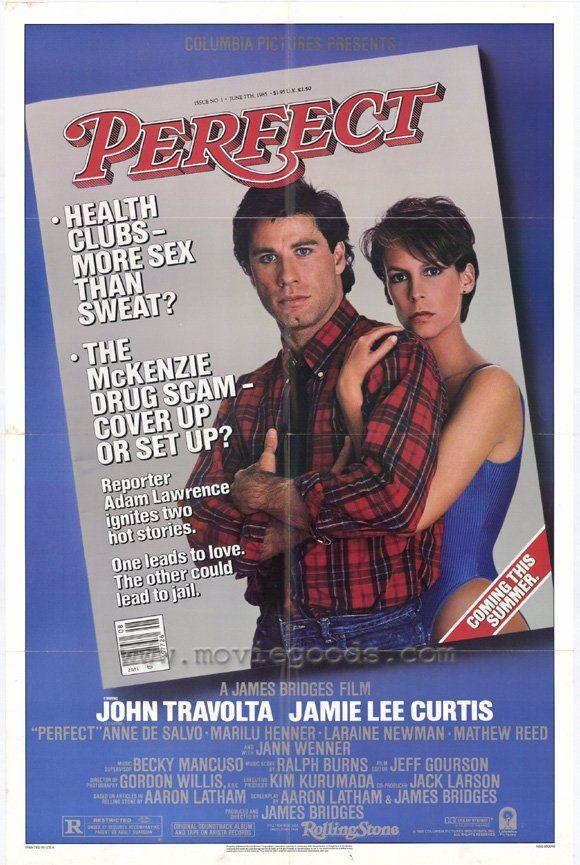 perfect | John Travolta | John travolta, Movie posters