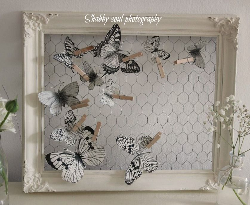 Shabby soul: Paper Butterfly - Tutorial and pattern | aus Draht ...