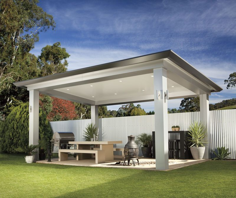 Pavilion By Stratco All Type Roofing Ideas For Outdoor