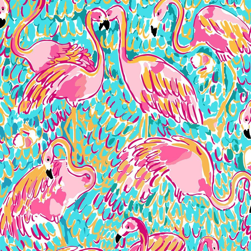 Flamingo Lilly Inspired Printed Patterned Craft Vinyl