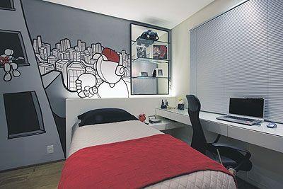 Dormitorio Pequeno Juvenil Dormitorio Juvenil Para Espacios Pequenos - Dormitorio-juvenil-pequeo