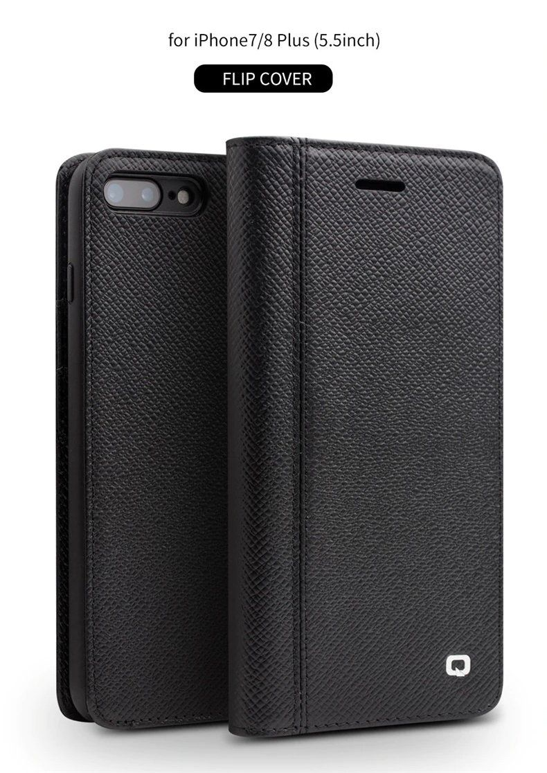 Genuine Leather Wallet Phone Case For Apple For Iphone 78 Case
