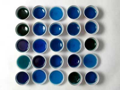 The best berry blue jello shots.