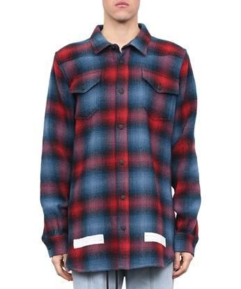 33ebd72581db OFF-WHITE Brushed flannel shirt.  off-white  cloth