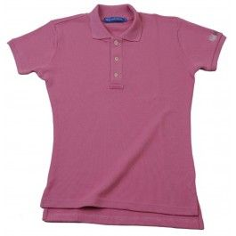 Ladies Plain Polo Shirt - Pink £65.00- Complete with lock stitched Polistas branded buttons and our traditional classic feminine fit, this 100% cotton pique twill weave polo is the epitome of classic polo style. The Plain Polo is casual enough for the house and stylish enough for the polo field; whether your competing or cheering on your favourite team.