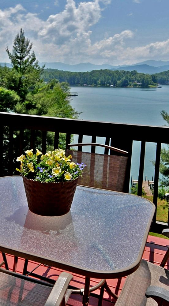 Lake Chatuge View In Hayesville, NC
