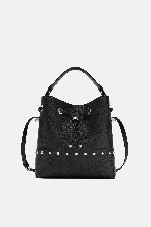 7424a20b49d94 Studded bucket bag | Clothes/shoes | Bags, Bucket Bag, Bucket