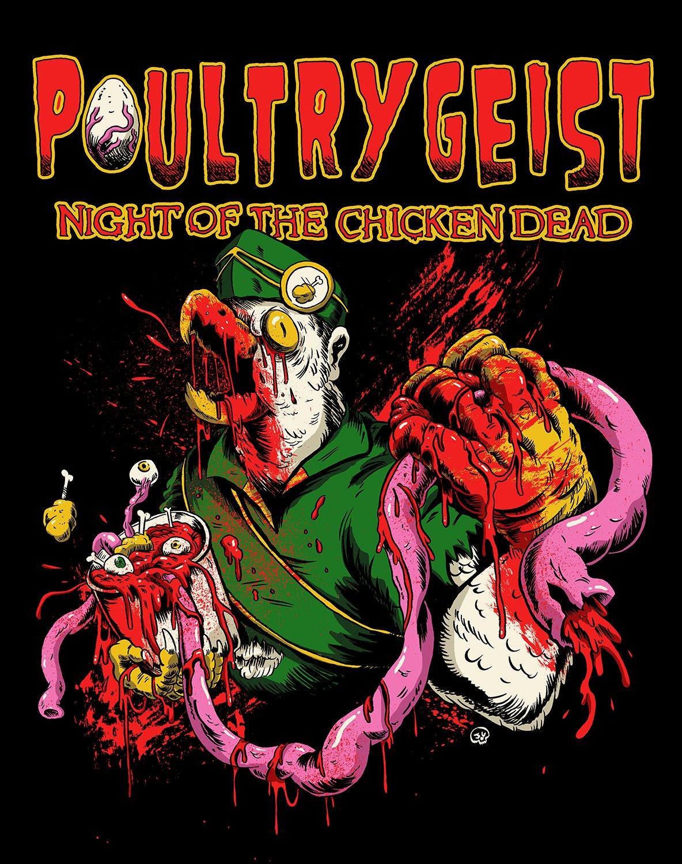 poultrygeist night chicken dead espaol