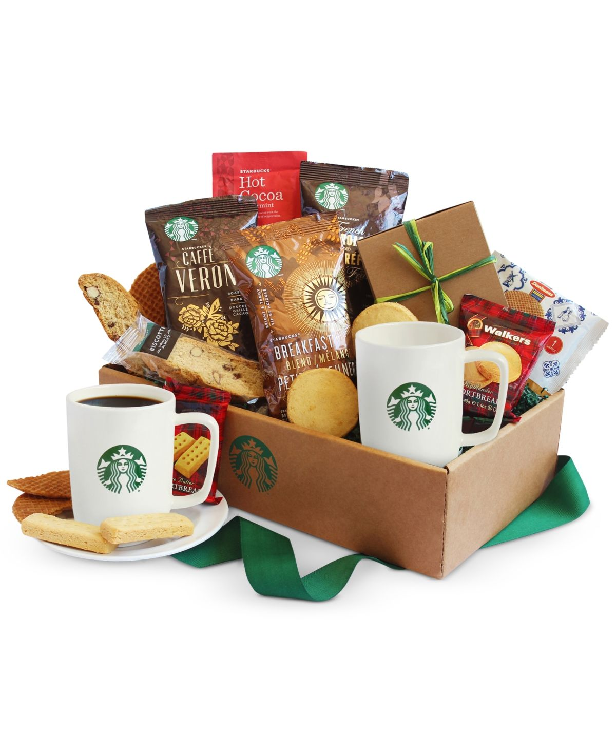 California Delicious Starbucks Coffee & Cocoa Gift Box
