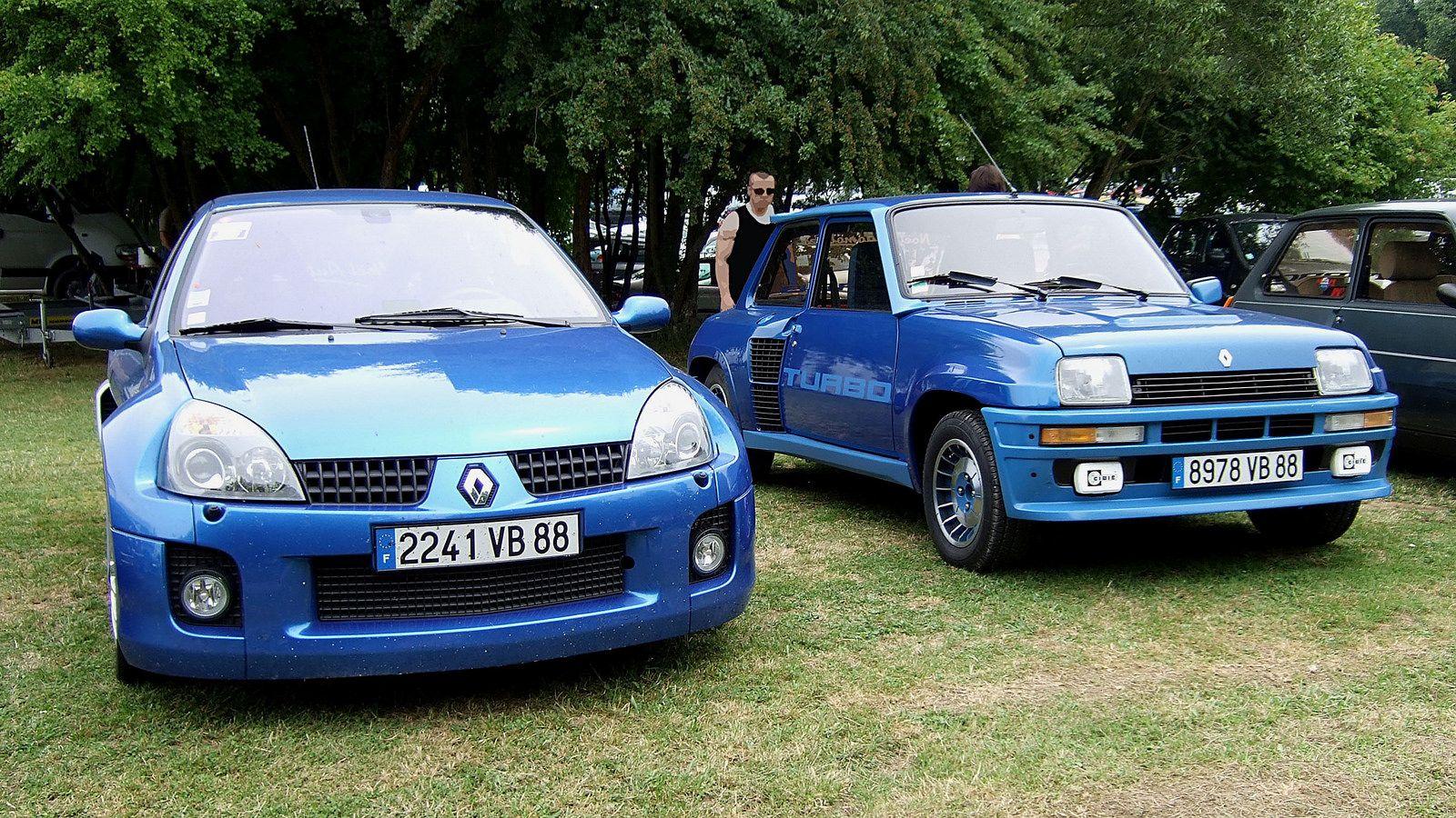 Renault Clio V6 Renault Sport (Phase 2 - 2003-05) & Renault