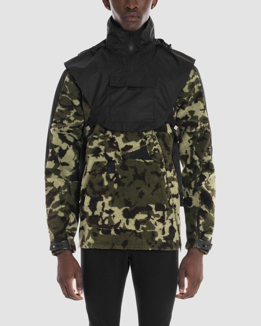 NIKE MMW FLC HD JACKET alyx Jackets, Camo jacket, Mens