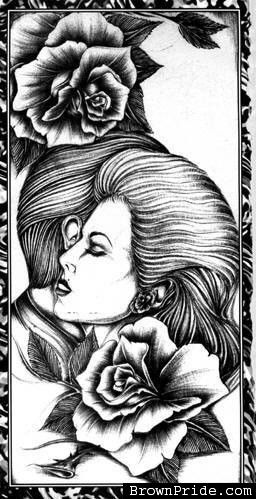 Chicano Art Coloring Pages Pin on Coloring