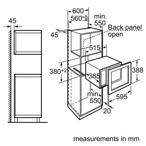 microwave dimensions cm google search