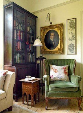 Great English Living Room Furniture