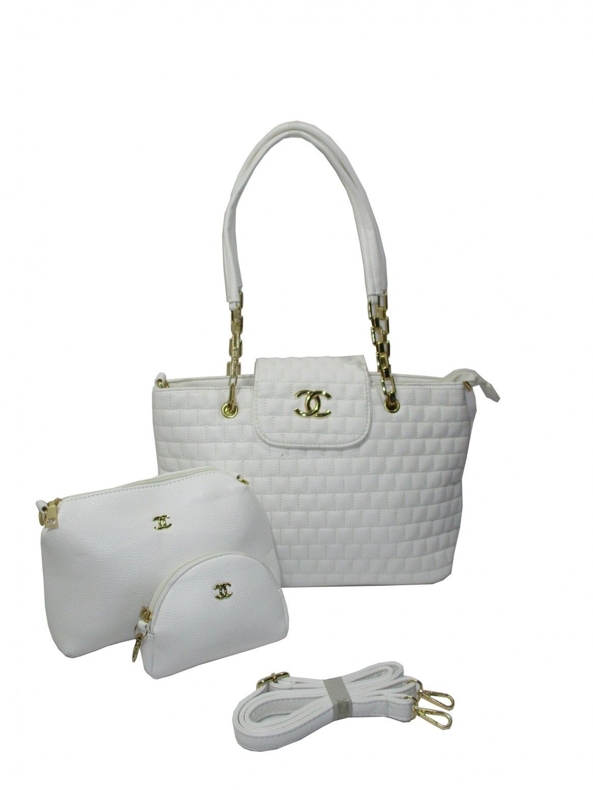9afb6d392863 Buy Channel Brand Imported Combos Handbags Online at Low prices in India on  Winsant