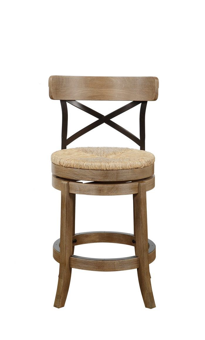 Features made with solid rubberwood metal back and sedge weave seat metal kickplate country cottage style jacklyn collection