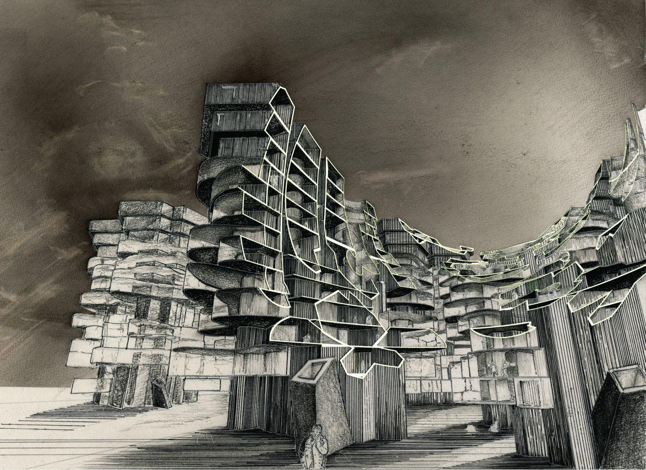 elevated shanty villas | Houses | Pinterest | Architektur