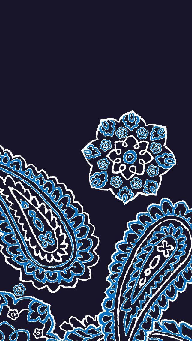 Blue Bandana Mobile Wallpaper Download Iphone Wallpaper