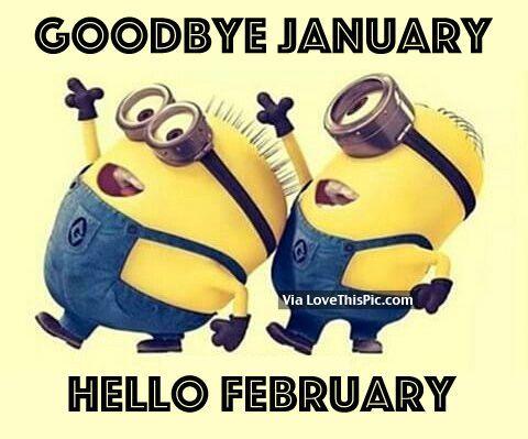 Hello February Funny Quotes Hellofebruary Hellofebruaryquotes Februaryquotes Februaryimages Funny Minion Quotes Minions Quotes Minions Funny