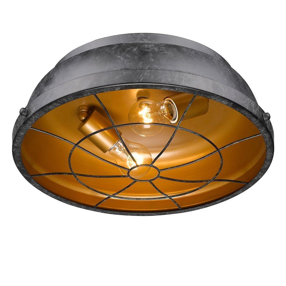 Golden Lighting's Bartlett Black Patina Steel Mini Pendant Light Fixture (Black Patina)