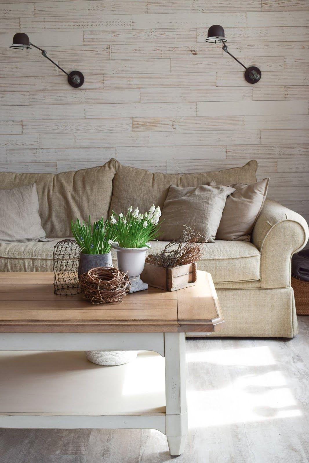 Deko Perlhyazinthen Tischdeko Dekoidee Wohnzimmer Interior Natürlich