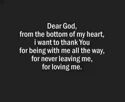 Thank You Lord That I Am Ok Now And Forever And Nothing I Do Or