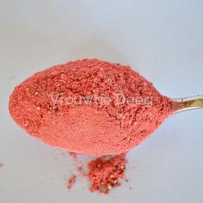 gevriesdroogd biologisch aardbeien poeder - 25g