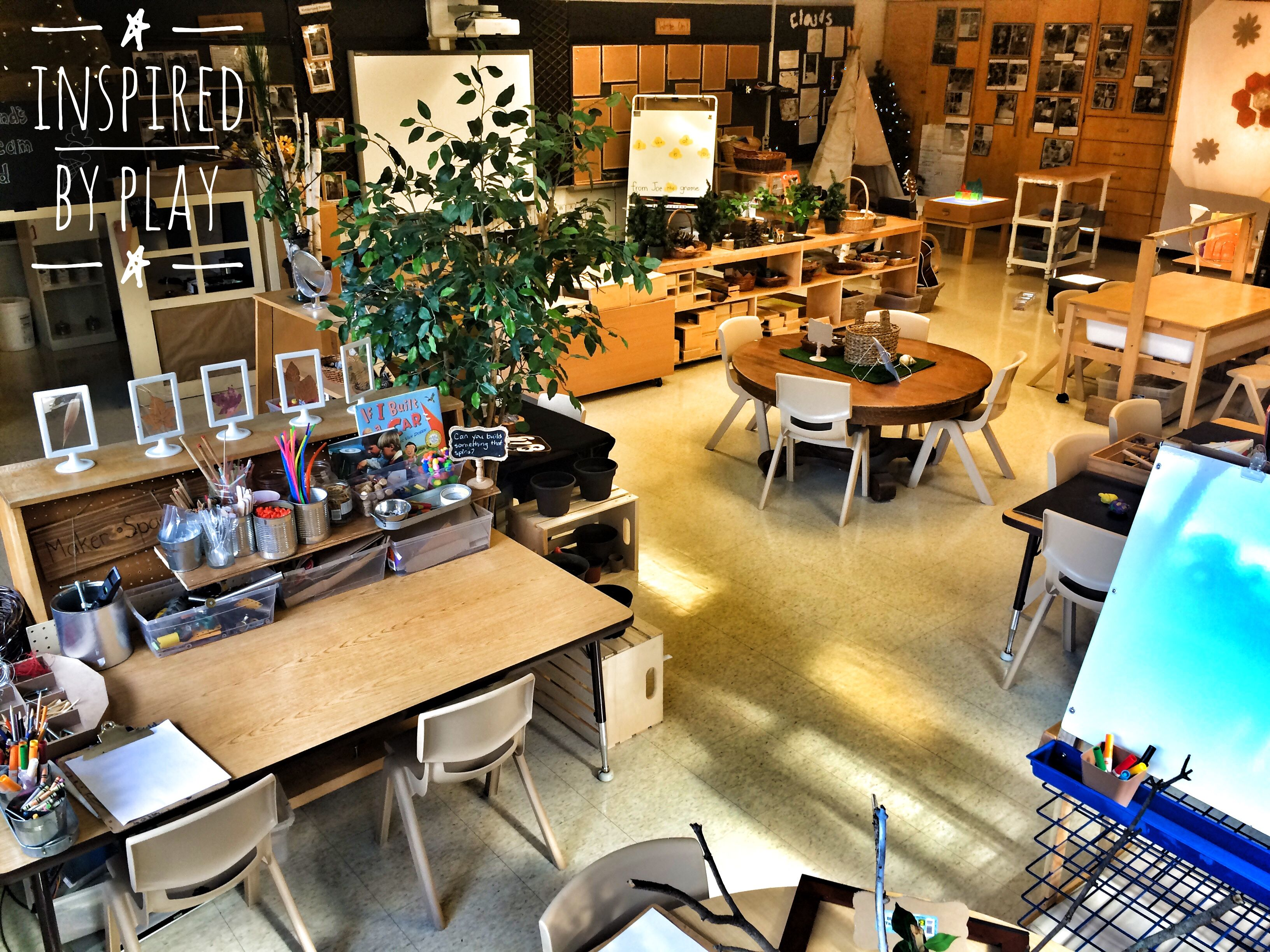 Classroom Design Inspiration ~ A reggio inspired classroom design kinderland tour part